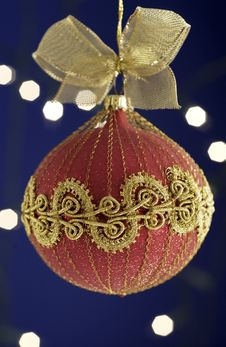 Free Christmas Ornament Royalty Free Stock Image - 21057186