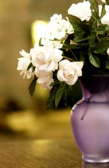 Free Flowers In A Vase Stock Images - 21057214