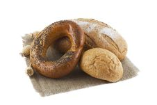 Free Loaves Of Bread Isolated Stock Image - 21057691
