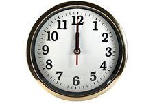 Free Wall Clock Royalty Free Stock Photography - 21059047