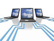 Free Cloud Computing Stock Photo - 21059160