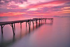 Free Ocean Bridge Stock Photo - 21059700