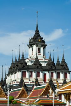 Free Metal Castle In Ratchanatda Temple Royalty Free Stock Image - 21059896