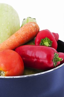 Free Various Vegetables In A Pot Stock Photo - 21059910