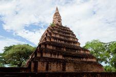 Free Ancient Pagoda Royalty Free Stock Photo - 21059975