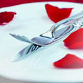 Free Valentine S Day Place Setting Stock Photography - 21067592