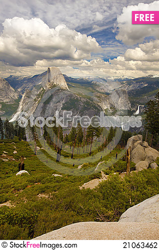 Free Half Dome Stock Photography - 21063462