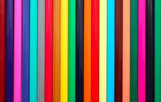 Free Background Made From Colored Pencils Stock Photo - 21060100