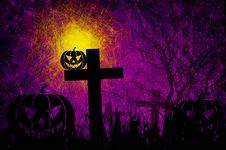 Free Grunge Textured Halloween Night Background Stock Photo - 21060280