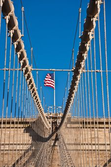 Free Brooklyn Bridge In New York Royalty Free Stock Image - 21060866