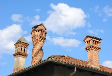 Free Tile Roof Stock Images - 21061394