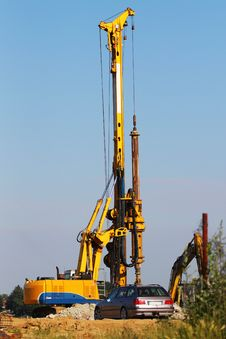 Drilling Machinery Stock Photography
