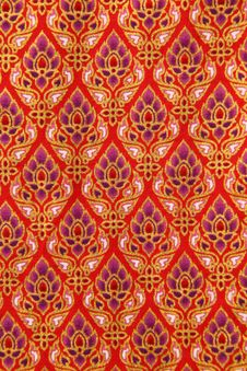 Free Pattern Of Thailand Native Cloths Stock Photography - 21063212