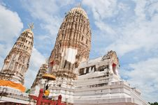 Free Wat Mahathat Royalty Free Stock Image - 21063316