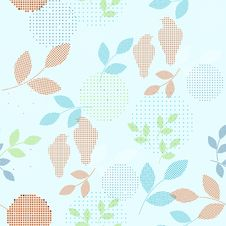 Free Floral Seamless Pattern Royalty Free Stock Image - 21063746