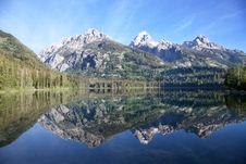 Free Taggart Lake Grand Teton National Park Stock Images - 21064224