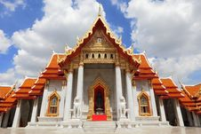Free Beautiful Church Of Temple In Thailand Royalty Free Stock Photography - 21064497
