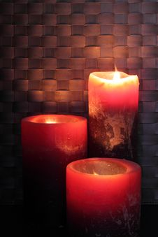 Free Candles Royalty Free Stock Photography - 21064617