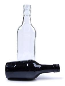 Free Black And White Bottles Stock Photos - 21064683