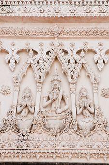 Free Thai Style Molding Art Royalty Free Stock Photos - 21064708