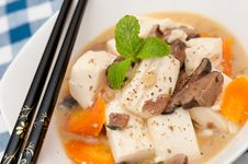 Free Traditional Tofu Dish Royalty Free Stock Photos - 21064768