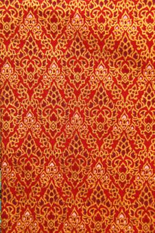 Free Pattern Of Thailand Native Cloths Royalty Free Stock Photo - 21065435