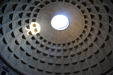Free Pantheon Cupola Stock Photography - 21065642