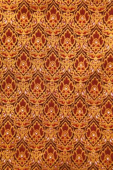 Free Pattern Of Thailand Native Cloths Stock Images - 21065674