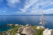 Free Lake Tahoe Royalty Free Stock Photography - 21066157