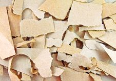 Free Torn Pieces Of Brown Paper Stock Images - 21066924
