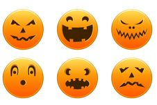 Free Halloween Icons Stock Photography - 21067662