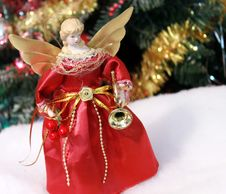 Free Christmas Angel Decoration Stock Photos - 21067703