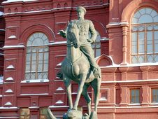 Free Zhukov Monument Near In Moscow, Russia Stock Image - 21069121