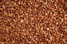 Free Buckwheat Cereals Background. Vegetarian Food Stock Photo - 21069230