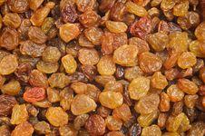 Raisins Background. Tasty Sweet Food Stock Images