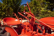 Free Tractor Seat Royalty Free Stock Photo - 21069715