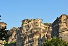 Free Meteora Monastery Stock Photos - 21069843