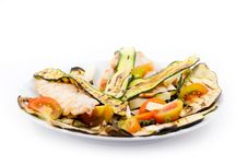 Zucchini And Chicken Royalty Free Stock Photo