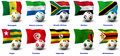 Free African Soccer Nations - 4 Of 4 Royalty Free Stock Image - 21072016