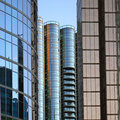 Free Window Reflection In Vancouver Stock Photos - 21072083
