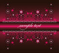 Free Framework With Flower Royalty Free Stock Photos - 21075518