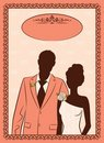 Free Bride And Groom S Silhouette Stock Photography - 21076982