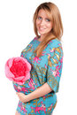 Free Portrait Of Happy Beautiful Pregnant Woman Stock Photography - 21077192