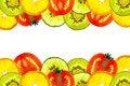 Free Mix Sliced Fruit Royalty Free Stock Photos - 21077698