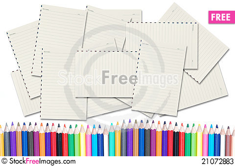 Free Blank Papers Stock Photos - 21072883