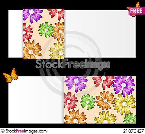 Free Flower Background Illustration Royalty Free Stock Photography - 21073427