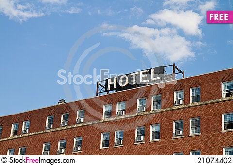 Free Hotel Stock Photography - 21074402