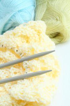 Free Knitting Yarn Royalty Free Stock Images - 21070389