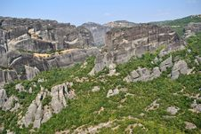 Free Meteora Rocks Stock Images - 21070434