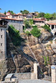 Free Meteora Monastery Stock Images - 21070824